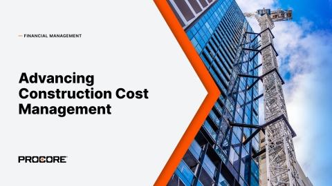 Procore Advances Construction Cost Management With Its Financials Management Portfolio (Graphic: Business Wire)