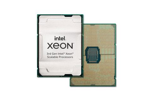 """Intel's 3rd Gen Intel Xeon Scalable processors (code-named """"Ice Lake"""") are the foundation of Intel's most advanced, highest performance data center platform optimized to power a broad range of workloads. Intel introduced the new processors and the platform they power on April 6, 2021. (Credit: Intel Corporation)"""