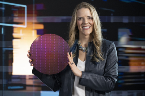 Lisa Spelman, corporate vice president in Intel's Xeon and Memory Group, presents during the introduction of 3rd Gen Intel Xeon Scalable processors. Intel introduced the new processors and the platform they power during a virtual presentation on April 6, 2021. (Credit: Walden Kirsch/Intel Corporation)