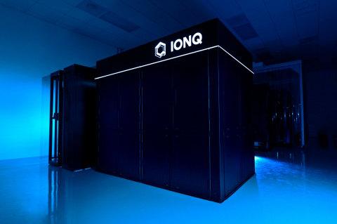 IonQ System Enclosure (Source: Erin Scott, IonQ).