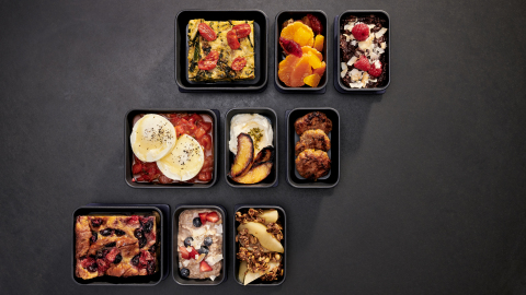 JetBlue has partnered with Dig to bring its signature build-your-own dining concept to tray tables at 35,000 feet – JetBlue's first complimentary meal in core. (Photo: Business Wire)