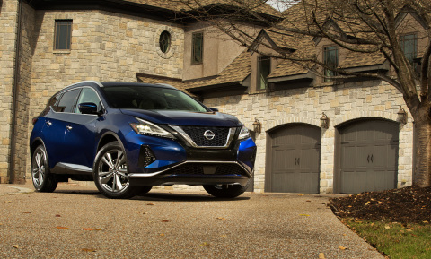 The 2021 Murano, Nissan's flagship crossover, continues to combine premium style and technology including standard Safety Shield 360 all without the luxury price tag. (Photo: Business Wire)