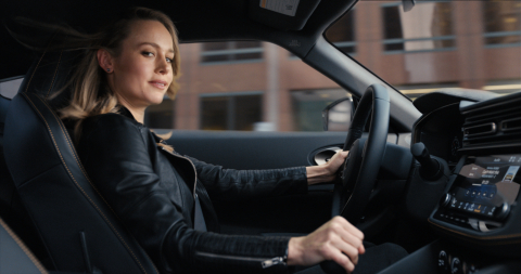 "Following the reveal of 10 new products over 20 months, the Nissan brand now focuses on the ""Thrill"" of its refreshed lineup and bringing that excitement to customers. Actor Brie Larson showcases Nissan's thrilling vehicles from the past, present and future in the brand's latest commercial. As an official NCAA partner, Nissan will debut the ""Thrill"" campaign during the NCAA Men's Final Four with a brand-new spot named, ""The New Nissan."" (Photo: Business Wire)"