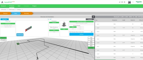 New LayoutFAST software tool offers cloud-connection and automated functionalities to bring greater speed, efficiency and accuracy to BIM and electrical design. (Graphic: Business Wire)