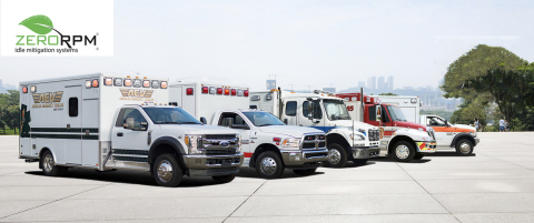 REV Group Ambulances feature ZeroRPM, patented technology to reduce the negative impact of vehicle idling (Photo: Business Wire)