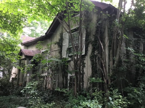 "HomeVestors announced The Ugliest House Of The Year 2020, a 2,146 square-foot Knoxville home built in 1945 that was voted the winner from among several nationwide, and celebrated before its renovation with ""An Ugly House Dance Party"". (Photo: Business Wire)"