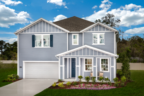 KB Home announces the grand opening of Palmetto Bluff, a new-home community in the Intracoastal West area of Jacksonville, from the low $300,00s. (Photo: Business Wire)