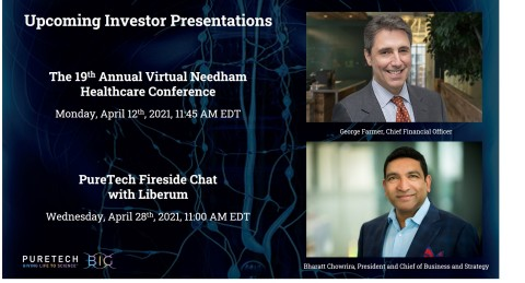Members of PureTech's management team will present at The 19th Annual Virtual Needham Healthcare Conference and a Fireside Chat with Liberum. (Photo: Business Wire)