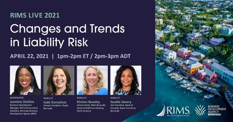 Bermuda Educational Session at RIMS LIVE 2021 (Graphic: Business Wire)