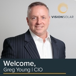 Greg Young, CIO of Vision Solar LLC