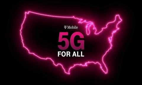 T Mobile anuncia increíbles iniciativas nuevas para actualizar los teléfonos, los hogares y los pequeños pueblos del país a 5G. Language: en-US (Foto: Business Wire)