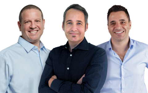 Joel Bar-El, Justin Behar, Dror Feldheim (Photo: Business Wire)