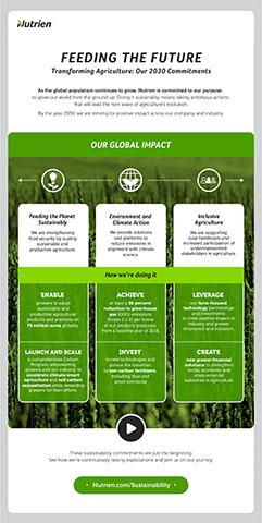 Feeding the Future Plan Global Impact