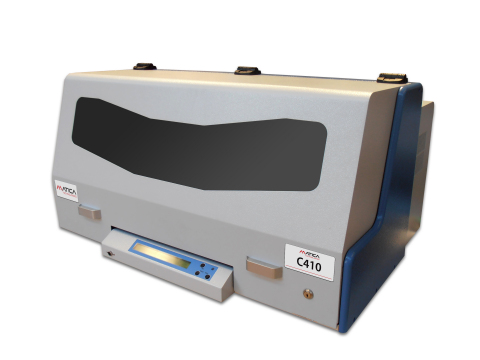 Matica's C410 Metal Plate Embosser (Photo: Business Wire)