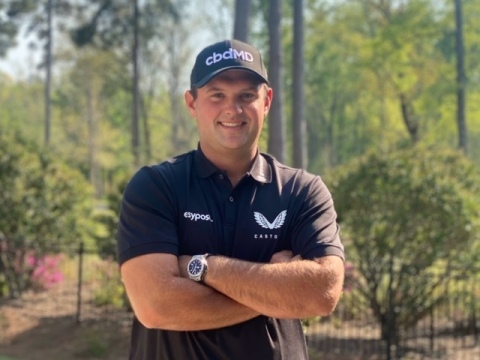 cbdMD Partners with 2018 Masters Champion and #7 Ranked Golfer in the World, Patrick Reed. (Photo: Business Wire)