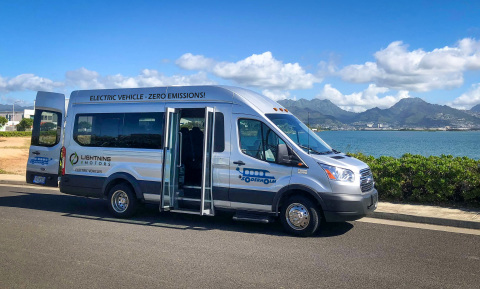 Soderholm Bus & Mobility, headquartered on Oahu, soon will be offering zero-emission electric vans and shuttle buses to its customers in the Hawaiian Islands and Pacific Islands. (Photo: Business Wire)