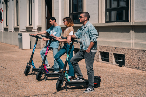 Helbiz Partners with Italian Art and Design School, Nuova Accademia di Belle Arti, to Transform Electric Scooters Into Works of Art (Photo: Business Wire)