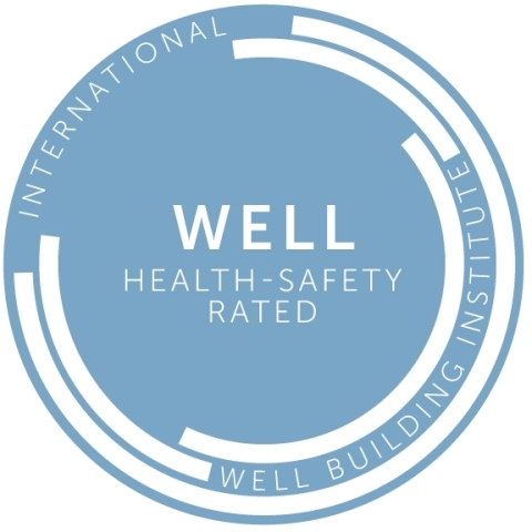 WELL Health-Safety Rating seal (Graphic: Business Wire)