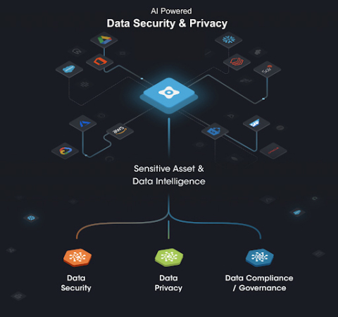 Securiti enables a distributed perimeter of security, privacy and compliance controls around multicloud data in a unified way. (Graphic: Business Wire)