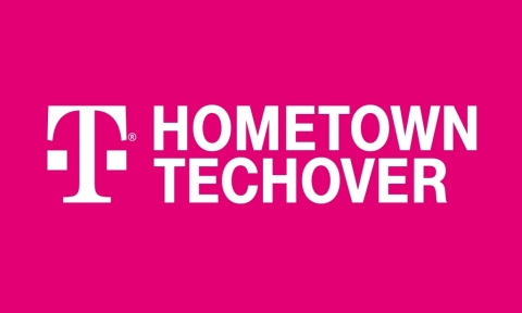 Today, the Un-carrier narrows its focus to just one town: introducing the T-Mobile Hometown Techover, a contest to find a single town in America that can showcase the power of the T-Mobile 5G network, that can be the 5G model for all other cities, towns, hamlets, burgs, parishes, villages or other similarly named community. And entering is as easy as taking a selfie. (Graphic: Business Wire)