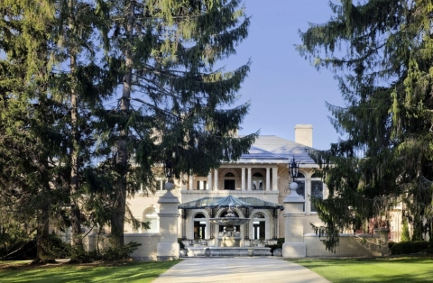 The Wheatleigh Hotel in Lenox, MA (Photo: Business Wire)