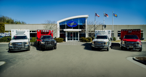 AEV, the nation's top-selling brand of ambulances, moves to a new manufacturing complex and expands its production capacity in Jefferson, NC (Photo: Business Wire)