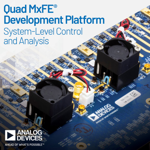 Analog Devices Announces 16-Channel, Mixed-Signal Front-End Digitizer for Reference Design Integration (Photo: Business Wire)