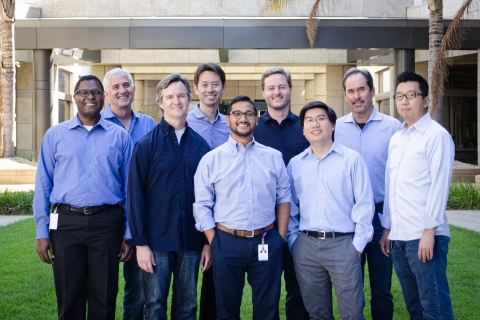 The TDK Ventures team. (Photo: Business Wire)