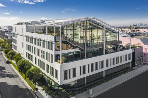 Hudson Pacific signs 70,000-square-foot lease at newly constructed Harlow office building in Hollywood. (Photo: Business Wire)