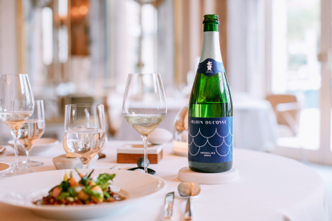 Alain Ducasse Sparkling Sake (Photo: Business Wire)