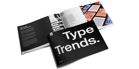 Type Trends, a new report by The Monotype Studio, explores how brands and agencies are using type to engage modern consumer audiences. (Photo: Business Wire)