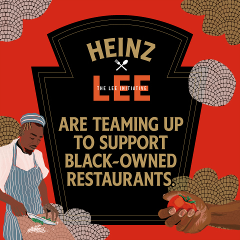 HEINZ launches a new grant program with The LEE Initiative to preserve Black-owned restaurants' cultural legacy. (Graphic: Business Wire)