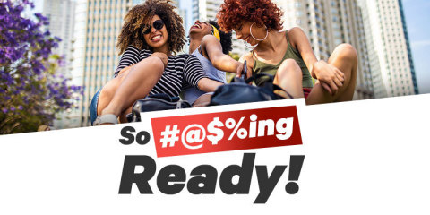 As COVID-19 restrictions continue to lift, a new Groupon survey shows 75% of Americans are 'So #@$%ing Ready' for the ordinary moments to return. (Graphic: Business Wire).