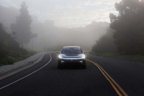 FARADAY FUTURE SELECTS NVIDIA DRIVE ORIN TO POWER FLAGSHIP FF 91 LUXURY EV FOR NEXT-GENERATION AUTONOMOUS DRIVING (Photo: Business Wire)