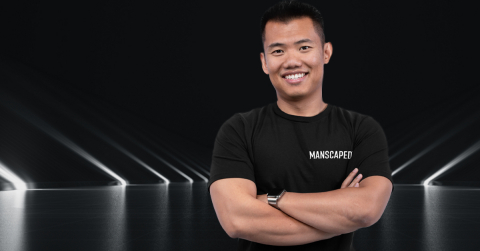 Paul Tran founded MANSCAPED in 2016 with a mission of moving men forward all over the world. (Photo: Business Wire)