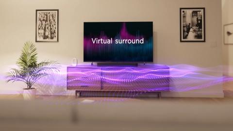 Roku OS 10 Virtual Surround Setting (Photo: Business Wire)