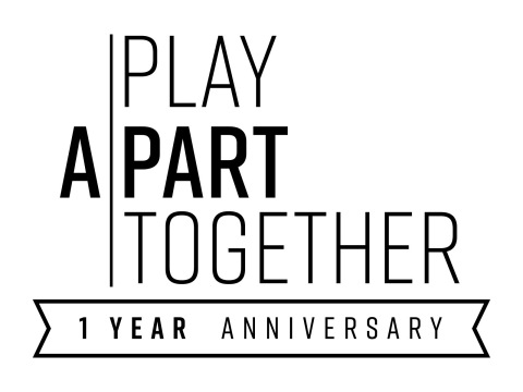 Games Industry Reflects on and Recommits to #PlayApartTogether Campaign at One Year Milestone (Graphic: Business Wire)