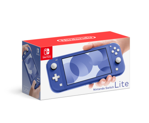 On May 21, a Nintendo Switch Lite system is launching with a new blue color. The blue Nintendo Switch Lite will be available for purchase at a suggested retail price of $199.99. (Photo: Business Wire)