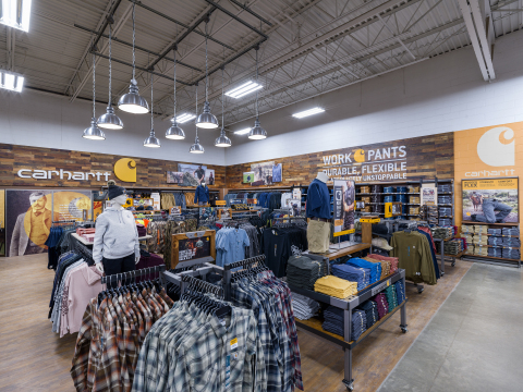 Tractor Supply Company to expand Carhartt merchandise selection in more than 100 retail stores with new store-within-a-store format. (Photo: Business Wire)