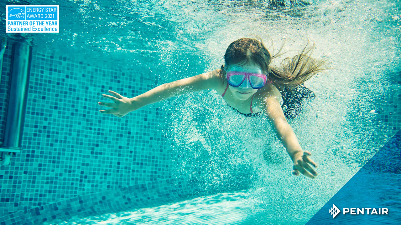 Pentair's energy efficient pool pumps help reduce consumers' energy costs as well as reduce greenhouse gas emissions.