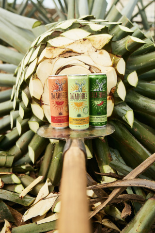 Tequila Cazadores Ready-to-Drink Canned Cocktails include the Margarita, Spicy Margarita and Paloma. (Photo: Business Wire)