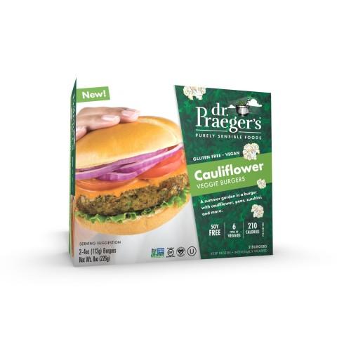 Dr. Praeger's Launches New Cauliflower Veggie Burger (Photo: Business Wire)