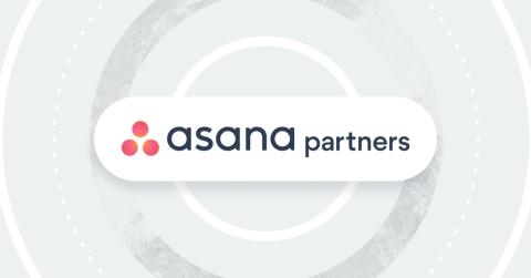 Asana a annoncé le lancement des Partenaires Asana, un écosystème comprenant plus de 200 outils de travail essentiels et partenaires de distribution dans 75 pays. (Graphic: Business Wire)
