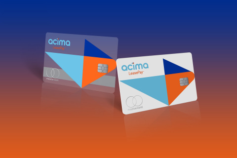 Acima LeasePay™ card (Graphic: Business Wire)