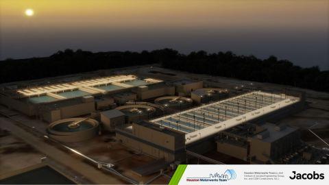 Bild mit freundlicher Genehmigung des Houston Waterworks Teams (ein Joint Venture der Jacobs Engineering Group, Inc. und CDM Constructors, Inc.)
