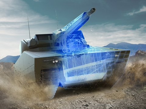 American Rheinmetall Vehicles, the prime contractor, selected L3Harris to provide vehicle mission systems, cybersecurity and its modular open systems approach (MOSA) for the Lynx.( Image Credit: American Rheinmetall Vehicles)