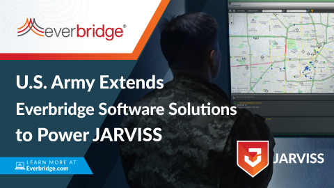 The U.S. Army Extends Everbridge Software Solutions to Power JARVISS (Graphic: Business Wire)