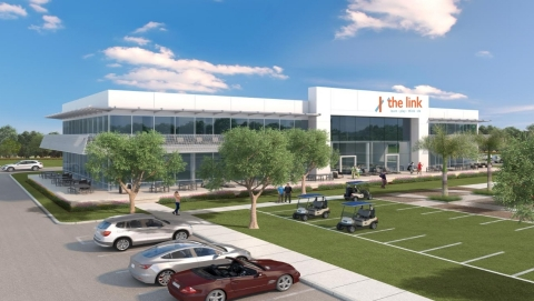 Rendering of the link slated to open in July (Photo: Business Wire)