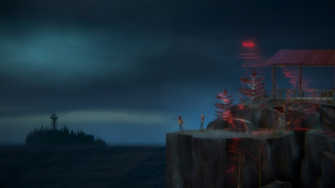 OXENFREE II: Lost Signals, a supernatural narrative adventure game about a researcher who stumbles upon ghostly happenings, comes to Nintendo Switch in 2021. (Photo: Business Wire)