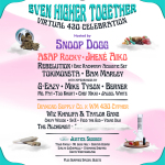 """Weedmaps Announces """"Even Higher Together"""" Virtual 4/20 Event Featuring Snoop Dogg, A$AP Rocky, Jhené Aiko and More"""